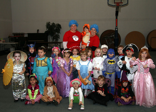 10-31-11 Taylor Learning Center Halloween Party